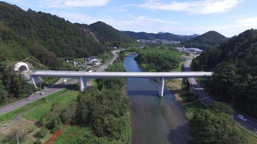 東海環状自動車道 武儀川橋